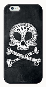 COVER PER IPHONE 6 6S - SKULL