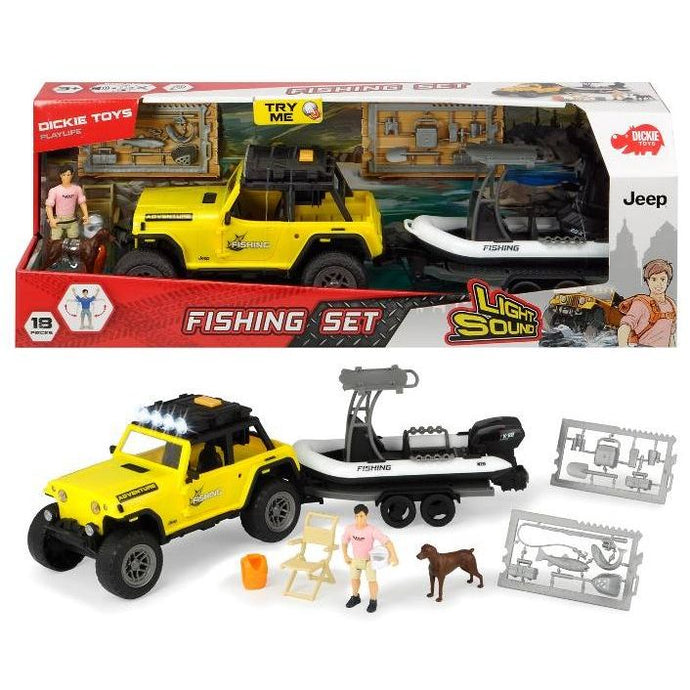 FISHING SET CON JEEP