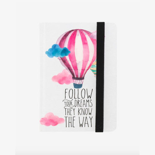 PHOTO NOTEBOOK SMALL - AIR BALLOON