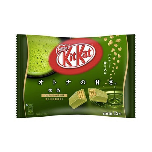 KIT KAT MINI MATCHA GREEN TEA - KIT KAT TE' VERDE JAPAN