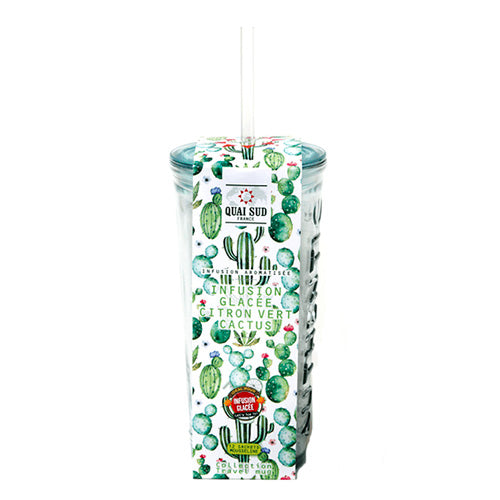 TRAVEL MUG INFUSION - CACTUS E LIME