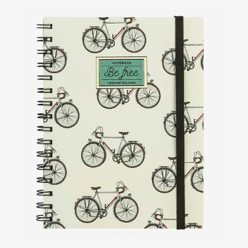 NOTEBOOK WITH SPIRAL A5 BIKE