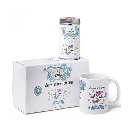 BOX MUG + THE' - JE SUIS UN SIRENE