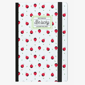 PHOTO NOTEBOOK MEDIUM - BE LUCKY