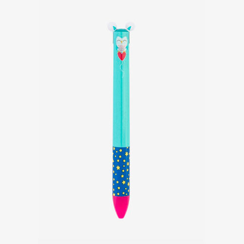 CLICK & CLACK TWO COLOR PEN OWL