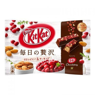 KIT KAT DELUXE MINI CRANBERRY AMANDES JAPAN