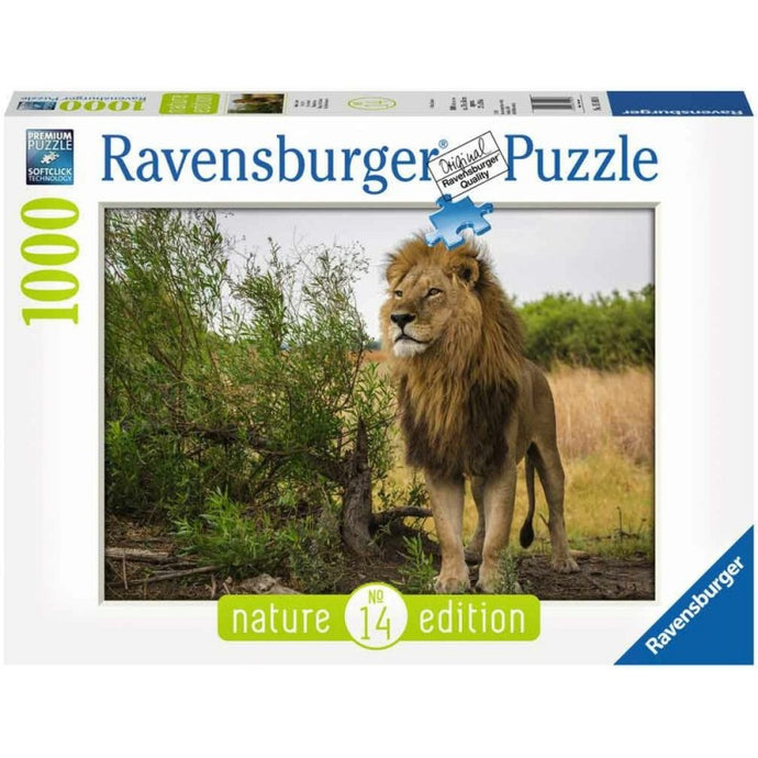 PUZZLE 1000PZ - Nature Edition - Re dei Leoni
