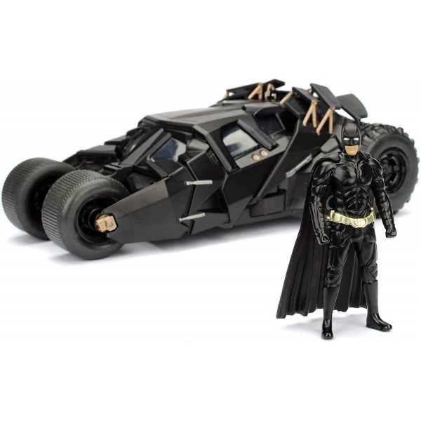 Batman & Batmobile - The Dark Night è l'Action Figure che riproduce nei minimi dettagli la Batmobile e il personaggio di Batman del film The Dark Night.