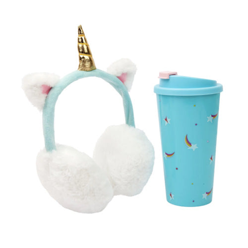 KEEP WARM MUG SET STARDUST UNICORN