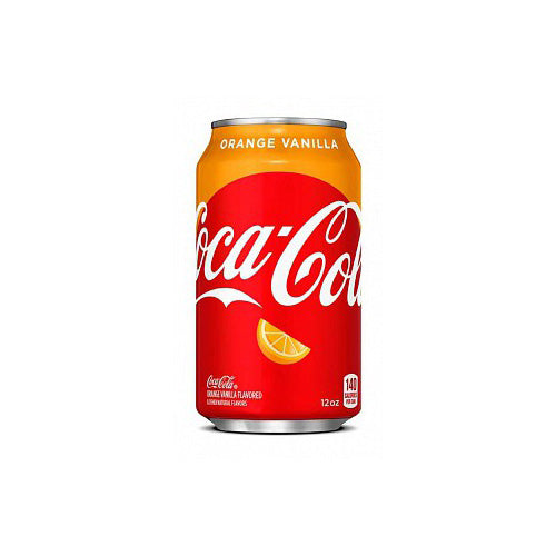 COCA COLA ORANGE VANILLA