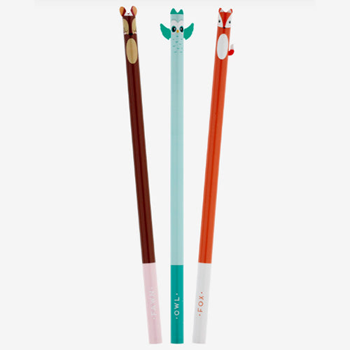 LITTLE WOODLAND FRIENDS - PENCILS SET