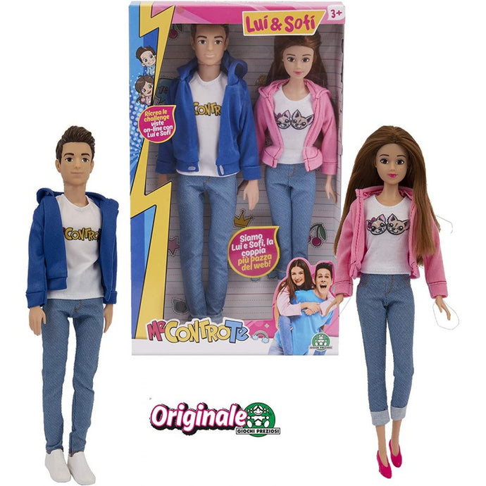 ME CONTRO TE FASHION DOLL LUI & SOFI