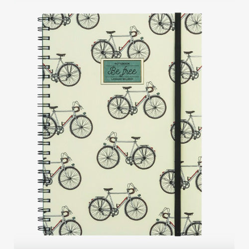 NOTEBOOK WITH SPIRAL MAXI - BIKE