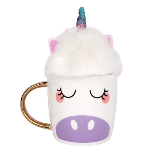 UNICORN FLUFFY MUG SET