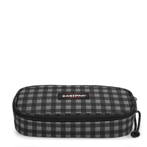 ASTUCCIO OVAL SINGLE CHECKSANGE BLACK EASTPAK