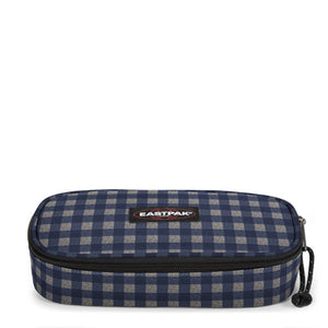 ASTUCCIO OVAL SINGLE CHECKSANGE BLUE EASTPAK