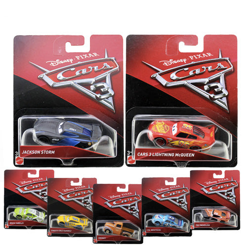 CARS 3 VEICOLI SINGOLI ASSORTITI