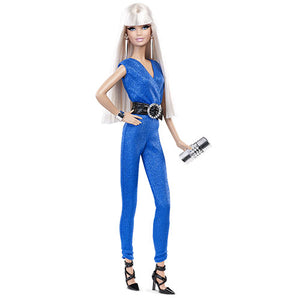 BARBIE COLLECTOR RED CARPET - BLUE JUMPSUIT