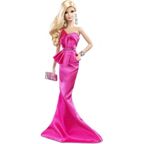 BARBIE COLLECTOR RED CARPET - PINK GOWN