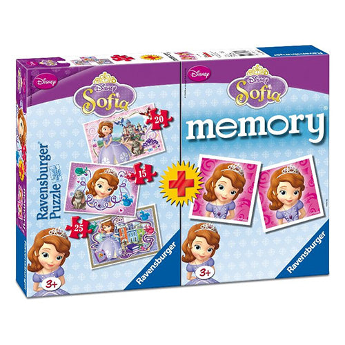 PUZZLE + MEMORY - SOFIA THE FIRST