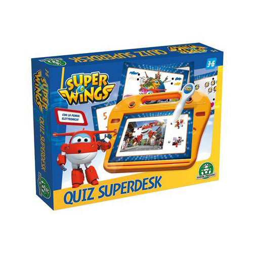 SUPER QUIZ CON PENNA ELETTRONICA - SUPER WINGS