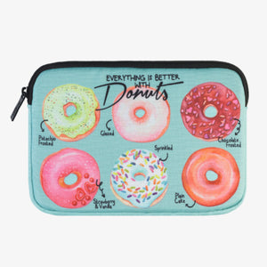 MINI CUSTODIA PER TABLET - DONUTS