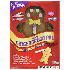 WONKA GINGERBREA MAN COOKIE DECORATING KIT