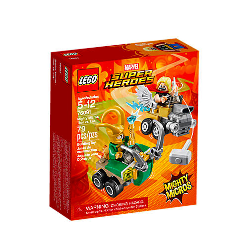 MIGHTY MICROS: THOR VS LOKI SUPER HEROES 76091