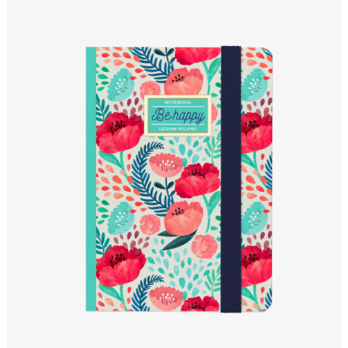 PHOTO NOTEBOOK S - FLOWERS BE HAPPY