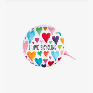 MY BIKE BELL - CAMPANELLO PER BICICLETTA - I LOVE BICYCLING