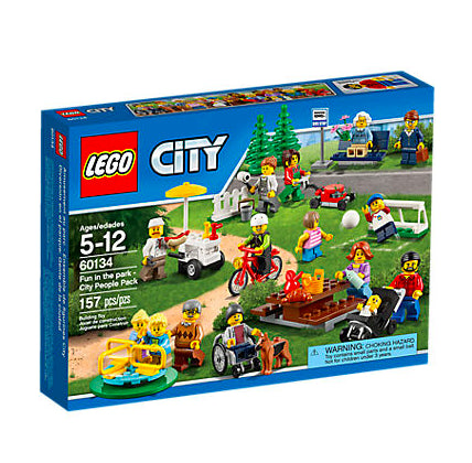 Divertimento al parco - City People Pack  60134