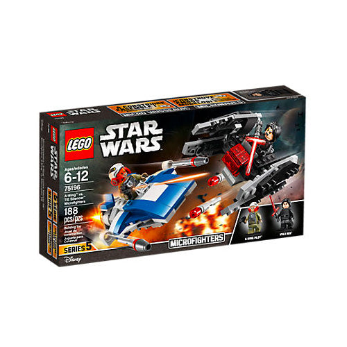 A-WING VS. TIE SILENCER MICROFIGHTERS STAR WARS 75196