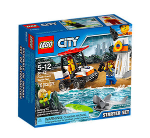 STARTER SET GUARDIA COSTIERA CITY 60163