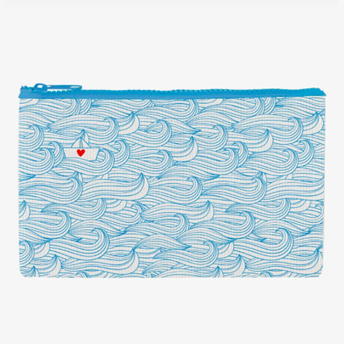 ZIPPER POUCH FUNKY COLLECTION - POCHETTE BOAT