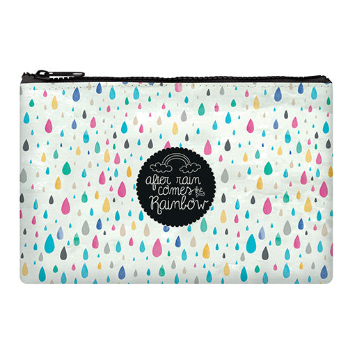ZIPPER POUCH FUNKY COLLECTION - AFTER RAIN