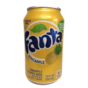 FANTA PINEPPLE SODA ALL'ANANAS