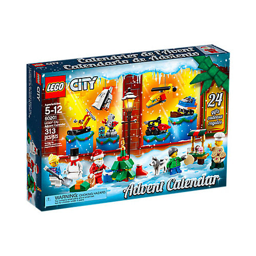 CALENDARIO DELL'AVVENTO LEGO CITY 60201