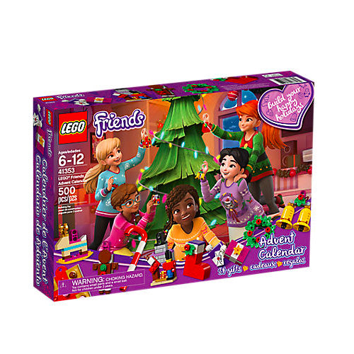 CALENDARIO DELL'AVVENTO LEGO FRIENDS 41353