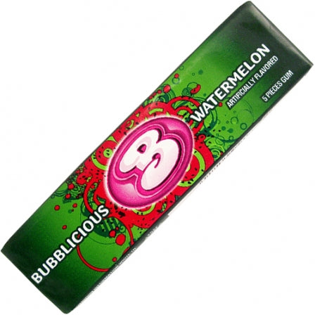 BUBBLICIOUS CHEWING GUM - ANGURIA