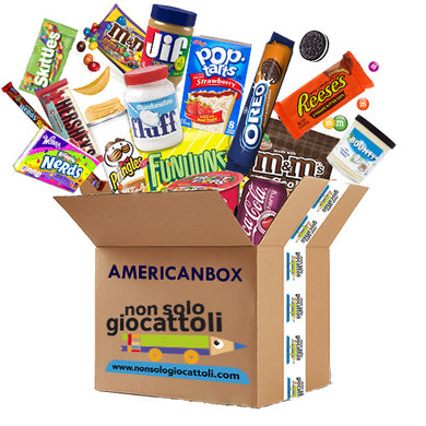 - AMERICAN BOX 1 - SMALL - SWEET & SNACK