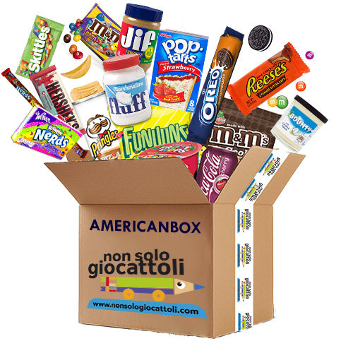 - AMERICAN BOX 3 - LARGE - SWEET & SNACK