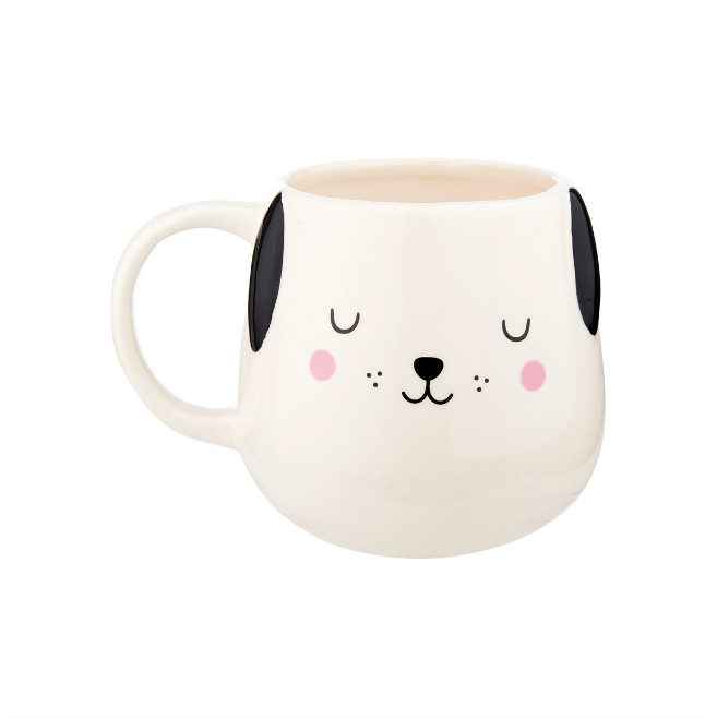 BARNEY THE DOG SHAPED MUG - TAZZA CANE