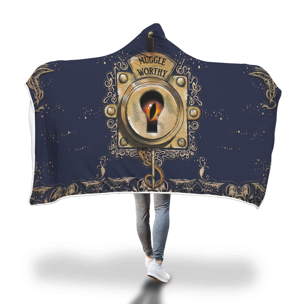 Muggle Worthy Hooded Blanket