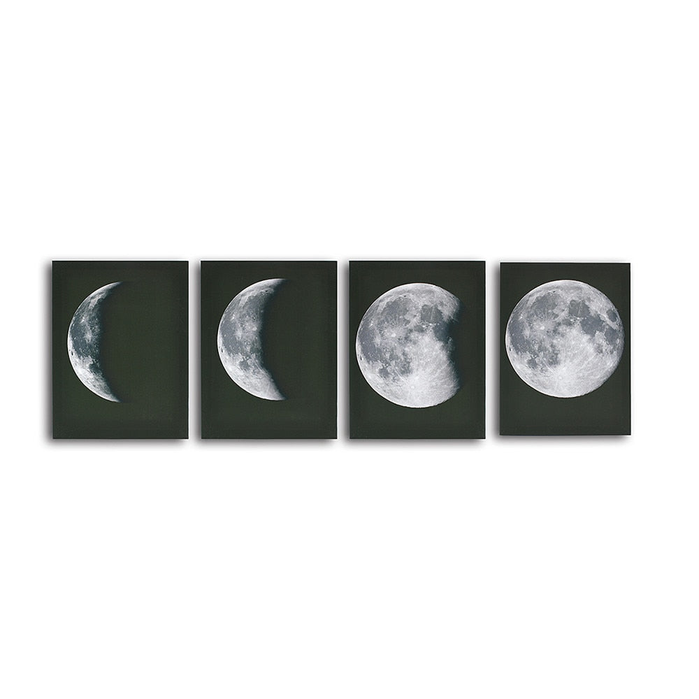 Moon Oil Canvas Painting