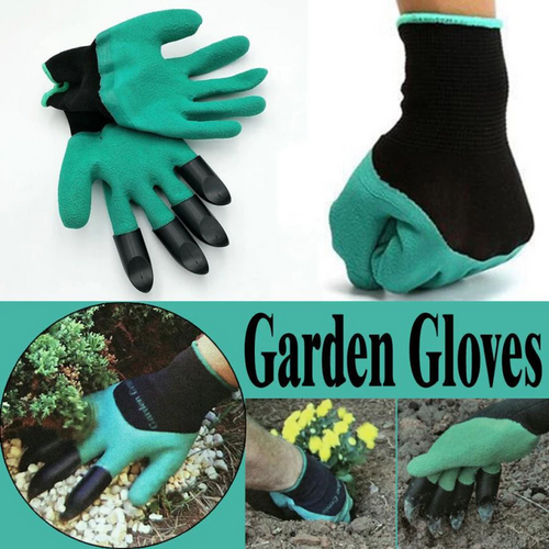 Pointed Garden Gloves