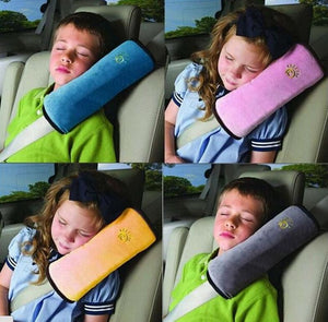Car Seat Belt Head Rest