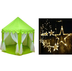 Children Teepee – Kids Indoor – Outdoor Play House / Castle/ Play Tent