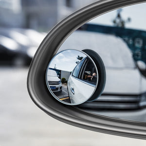 360 Rotatable Car Blind Spot Mirrors (2Pcs)
