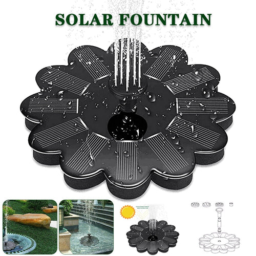 Solar Bird Bath Fountain