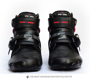 Motorcycle Speed Short boot